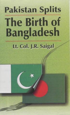 9788170491248: Pakistan Splits: The Birth of Bangladesh