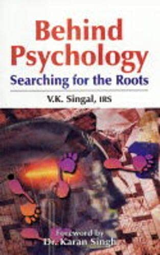 9788170491453: Behind Psychology: Searching for the Roots