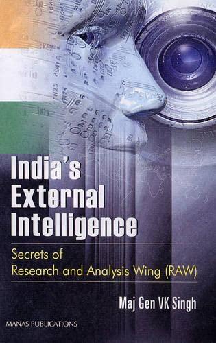 India's External Intelligence: Singh V.K.
