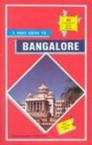 9788170531432: Bangalore City Map (TTK discover India series)