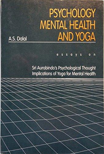 psychology mental health and yoga essays on sri
