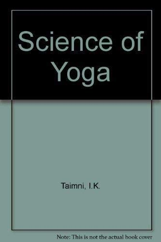 9788170590019: The Science of Yoga: The Yoga-Sutras of Patanjali in Sanskrit