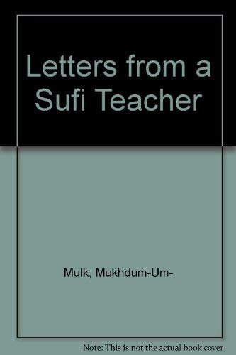9788170590453: Letters from a Sufi Teacher