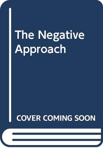 9788170593119: The Negative Approach