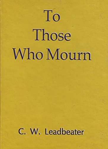 9788170593621: To Those Who Mourn