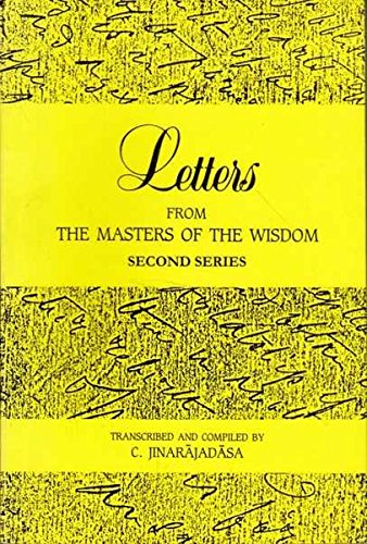 9788170593966: Letters from the Masters of the Wisdom