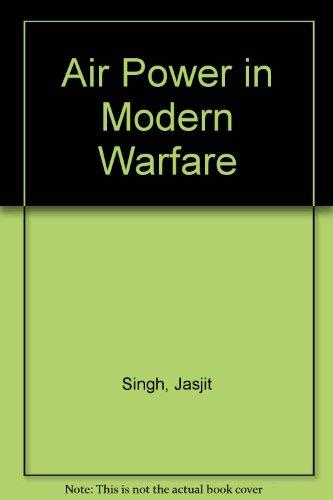 9788170620471: Air Power in Modern Warfare