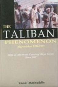 9788170621072: The Taliban Phenomenon: Afghanistan, 1994-1997