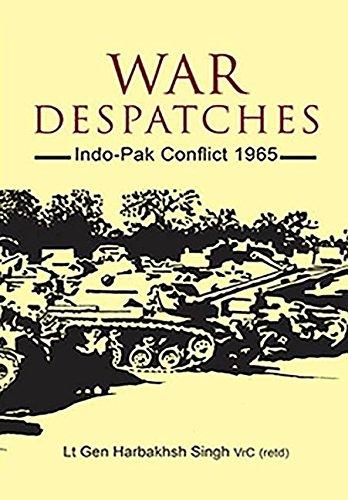9788170621171: War Despatches: Indo-Pak Conflict 1965