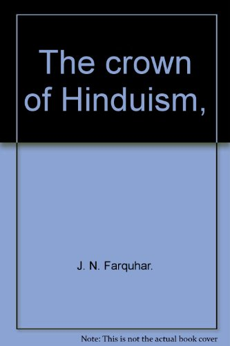 9788170690146: The crown of Hinduism,
