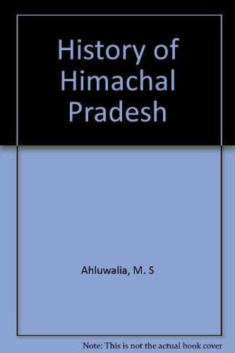 9788170760238: History of Himachal Pradesh
