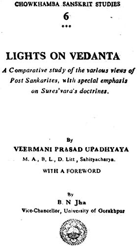 Lights on Vedanta: Jha B.N.