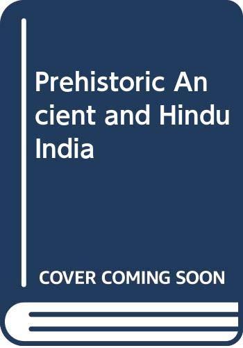 9788170811350: Prehistoric Ancient and Hindu India