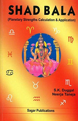 Shad Bala (Planetary Strengths Calculation & Application): S.K. Duggal,Neerja Taneja