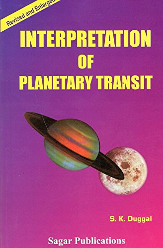 9788170820345: Interpretation of Planetary Transit