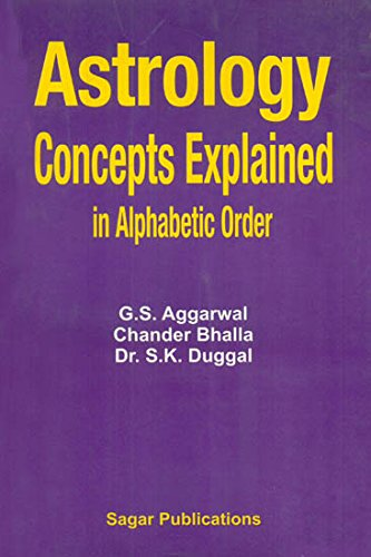 Astrology, Concepts Explained (Dictionary of Astrology): S.K. Duggal, G.S.