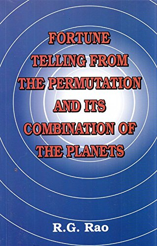 Fortune Telling from the Permutation & its: R.G. Rao