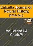 Calcutta Journal of Natural History (5 Volume set i ii iii iv v ): john m'clelland mc'lelland