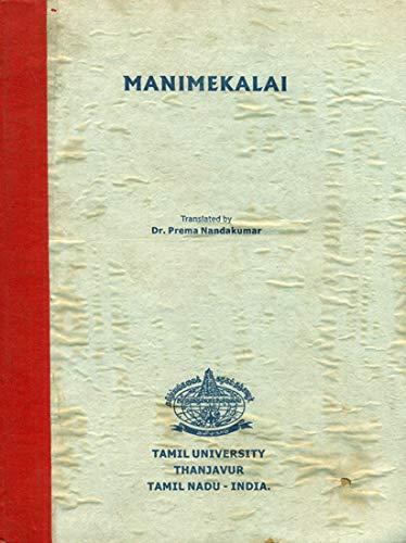 Manimekalai: Nandakumar, Prema [translator]