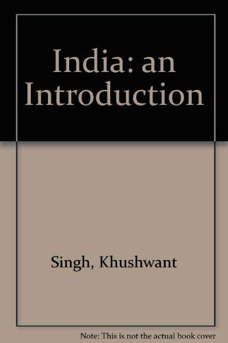 9788170942764: India: An Introduction