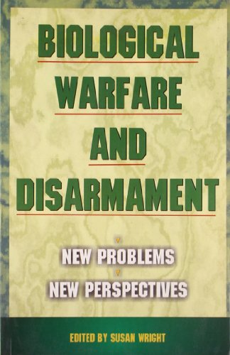 9788170945420: Biological Warfare and Disarmament: New Problems, New Perspectives