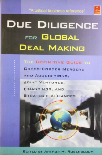Due Dilligence For Global Deal Making