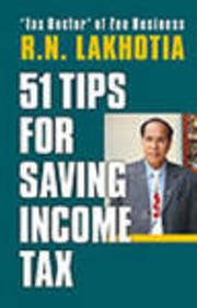 9788170946687: 51 Tips for Saving Income Tax