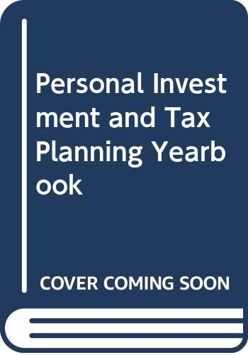 9788170946717: Personal Investment and Tax Planning Yearbook