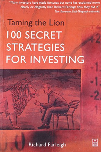 9788170947165: Taming the Lion: 100 Secret Strategies for Investing