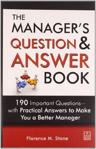 Manager's Question and Answer Book