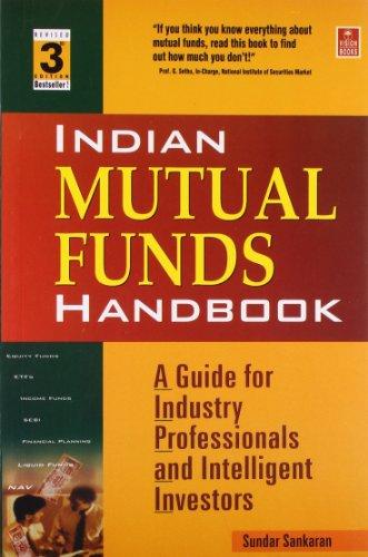 Indian Mutual Funds Handbook: Sundar Sankaran