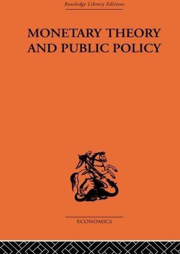Monetary Theory & Public Policy: Kurihara Kenneth K.
