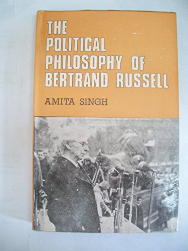 9788170990390: The political philosophy of Bertrand Russell