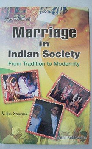 Marriage in Indian Society, 2 Vols: Usha Sharma