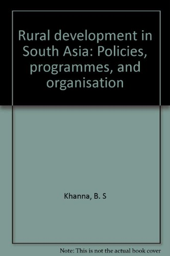 9788171002863: Rural Development in South Asia (4 Volume Set)