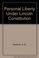 9788171003044: Personal Liberty Under Indian Constitution