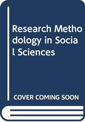 Research Methodology in Social Sciences: Devendra Thakur