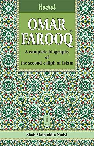 Hazrat Omar Farooq: Nadvi Shah Moinuddin