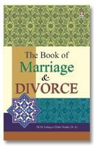 The Book of Marriage and Divorce ; A Gift for Muslim Women