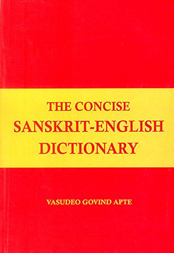 9788171104963: The Concise Sanskrit English Dictionary