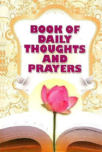 9788171201433: Book of Daily Thoughts & Prayers