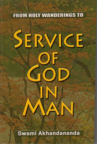 9788171204915: Service of God in Man