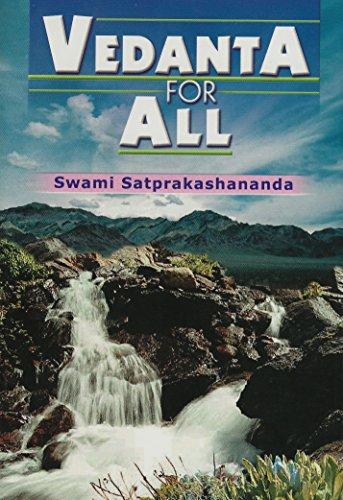 Vedanata for All: Swami Satprakashananda