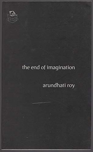 9788171308675: The End of Imagination (Deecee Contemporary Series)