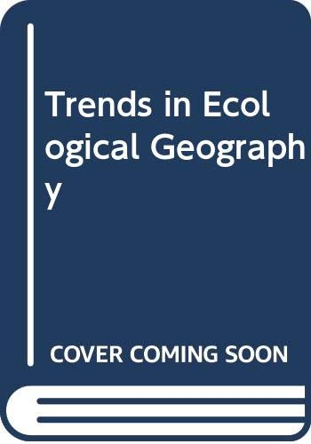 9788171320325: Trends in Ecological Geography