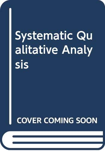 Systematic Qualitative Analysis: K.L. Kapoor