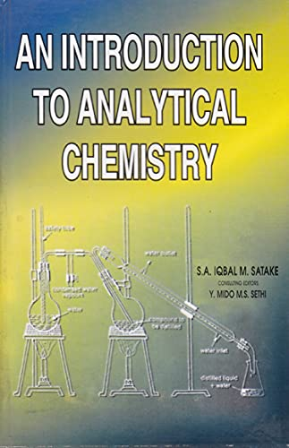 9788171412440: An Introduction to Analytical Chemistry