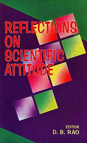Reflections on Scientific Attitude: D.B. Rao