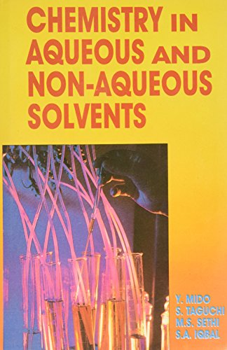 9788171413317: Chemistry in Aqueous and Non Aqueous Solvents