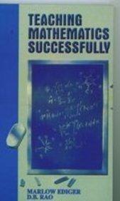 Teaching Mathematics Successfully: Digumarti Bhaskara Rao,